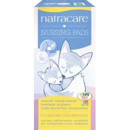 Natracare New Mother Organic Cotton Natural Nursing Pads - 26