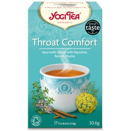 Yogi Organic Throat Comfort Tea - 17 Bags