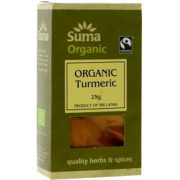 Suma Organic & Fairtrade Ground Turmeric - 25g