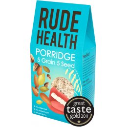 Rude Health 5 Grain 5 Seed Porridge (formerly Morning Glory) 500g