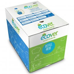 Ecover Non-Bio Laundry Liquid Bag in Box Refill - 15L