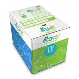 Ecover Bag in a  Box Washing Up Liquid - Lemon & Aloe Vera - 15 litre
