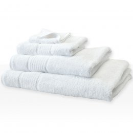 Fair Trade & Organic White Face Towel