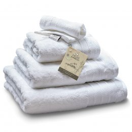 Bamboo Face Towel - White
