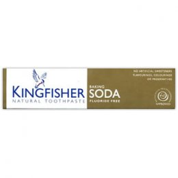 Kingfisher Fluoride Free Toothpaste - Baking Soda - 100ml