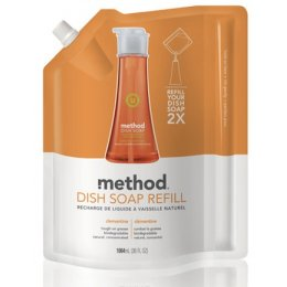Method Washing Up Liquid REFILL - Clementine 1064ml