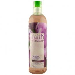 Faith In Nature Shampoo - Lavender & Geranium - 400ml
