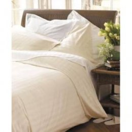Natural Collection Organic Cotton Double Duvet Cover - White