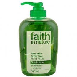 Faith In Nature Hand Wash - Aloe Vera & Tea Tree - 300ml