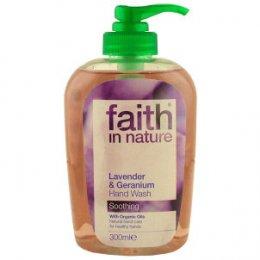 Faith In Nature Hand Wash - Lavender & Geranium - 300ml