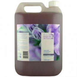 Faith In Nature Shampoo - Lavender & Geranium - 5 litres