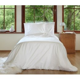 Organic Shabby Chic Duvet Cover-Double