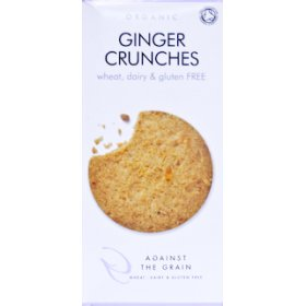 Against The Grain Organic Ginger Crunches - 150g