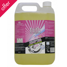 Faith in Nature Superconcentrated Laundry Liquid - 5 litre