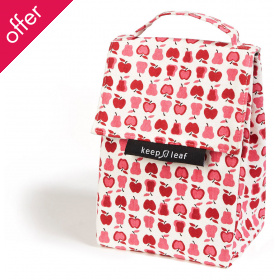 Keep Leaf Organic Cotton Insulated Lunch Bag