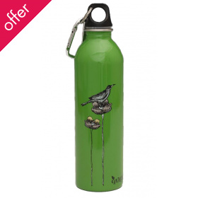 Earthlust Stainless Steel Bottle - Bird Cage - 600ml