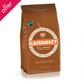 Cafedirect Full Roast & Ground Coffee - 227g