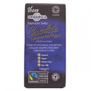 Organica Premium Belgian Chocolate Couverture - 100g