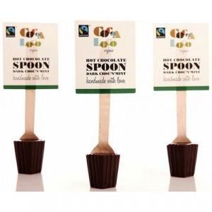 Cocoa Loco Hot Chocolate Spoon - Dark Choc'n'Mint - 30g