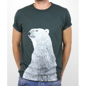Rapanui Organic Cotton Polar Bear T-Shirt