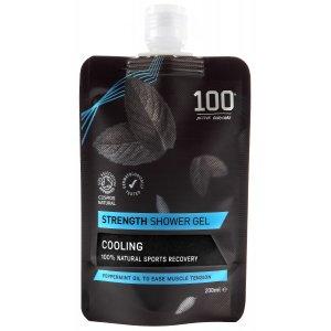 100 Bodycare Strength Natural Shower Gel - 200ml