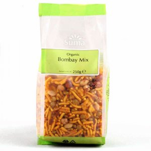 Suma Prepacks Organic Bombay Mix - 250g