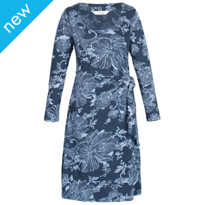 Lotus Organic Tie Side Dress-Slate