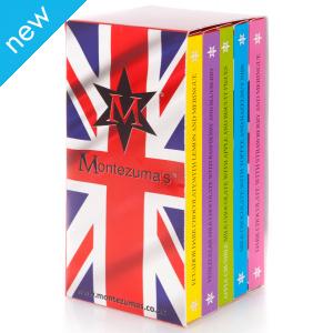 Montezuma's Great British Pudding Chocolate Bar Library - 500g
