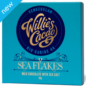 Willie's Cacao Milk Chocolate with Sea Salt - 50g
