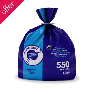 Traidcraft Fair Trade Everyday Two Cup Catering Tea - 550 Bags