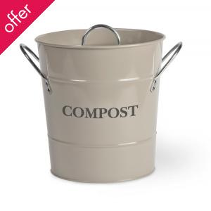 Garden Trading Compost Pail Bucket 3.5L