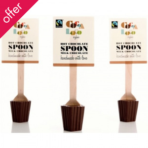 Cocoa Loco Hot Chocolate Spoon - Milk - 30g