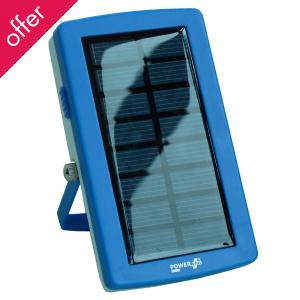 PowerPlus Lizard USB Solar Powerbank & Battery Charger