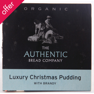Luxury Organic Christmas Pudding - Small 225g