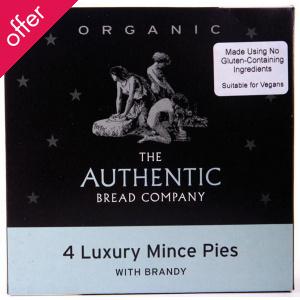 Luxury Organic Mince Pies 160g