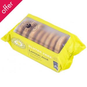 Doves Farm Organic Lemon Cookies - 150g