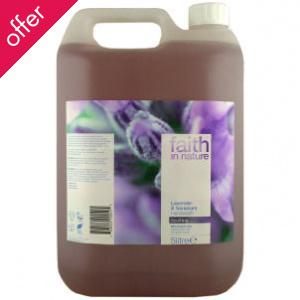 Faith In Nature Hand Wash -  Lavender & Geranium - 5 litres