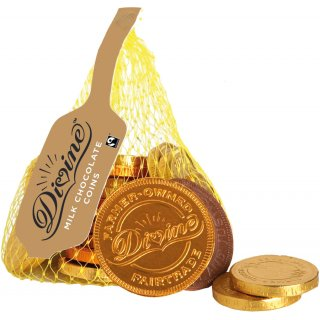 Divine Milk Chocolate Coins