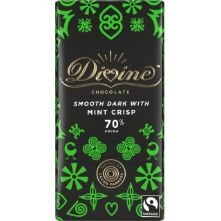 Divine 70% Dark Chocolate with Mint