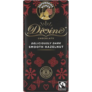 Divine Dark Chocolate with Hazelnut