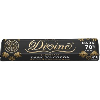 Divine 70% Dark Chocolate Small Bar