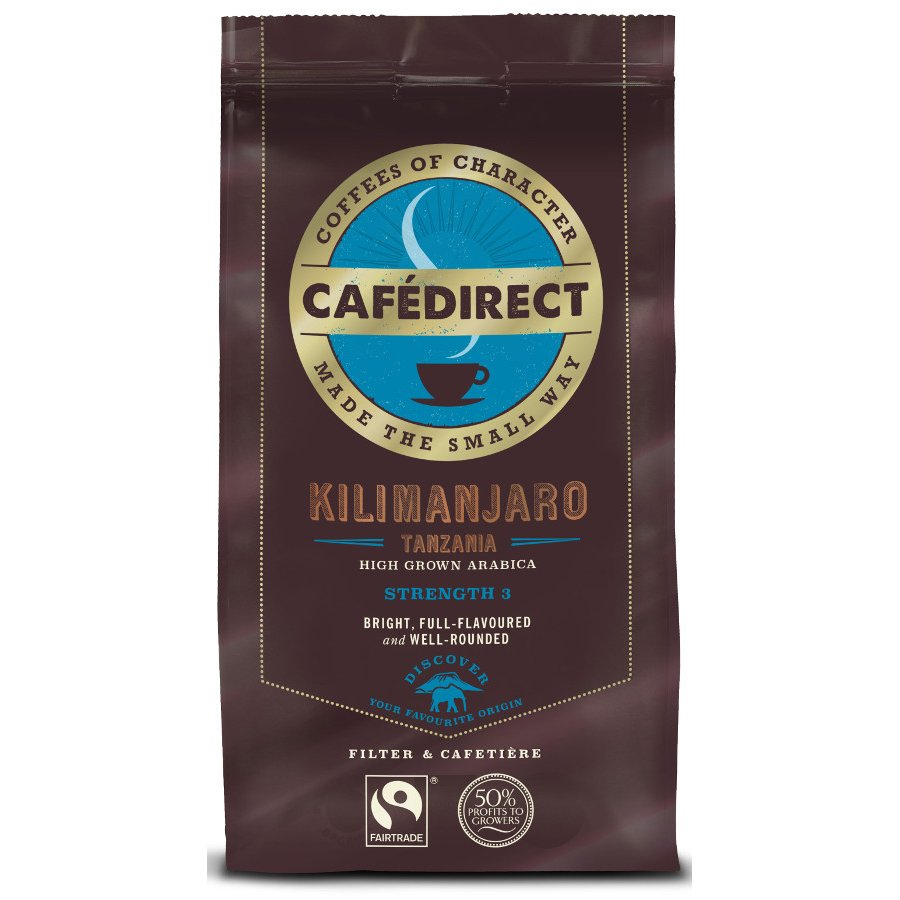 Buy From: Cafédirect Kilimanjaro Fresh Ground Coffee