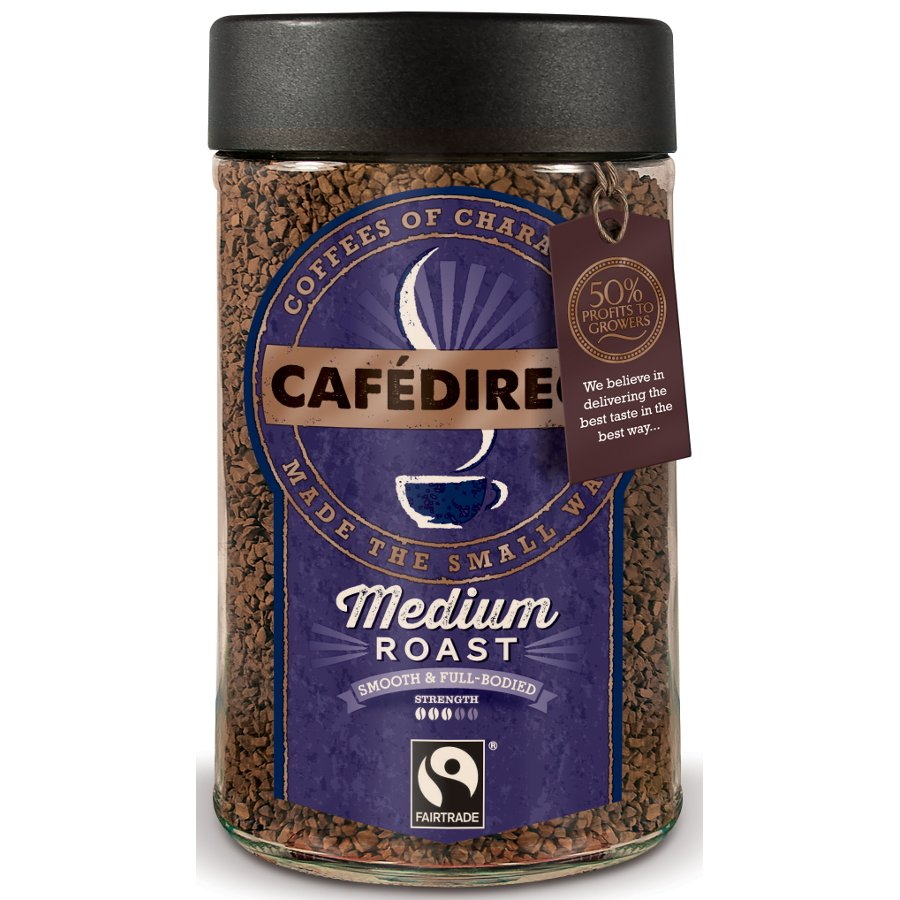 Cafedirect Fairtrade Classic Instant Coffee 100g