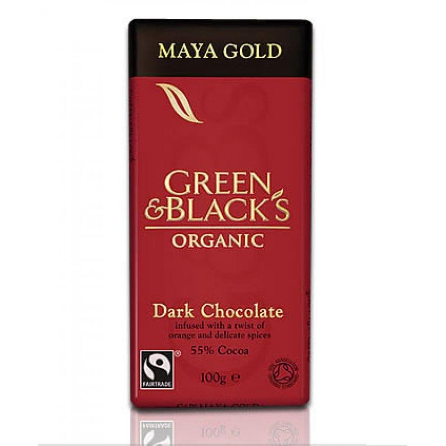 Green and blacks maya gold