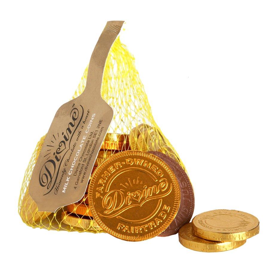 Dairy Free Chocolate Coins Christmas