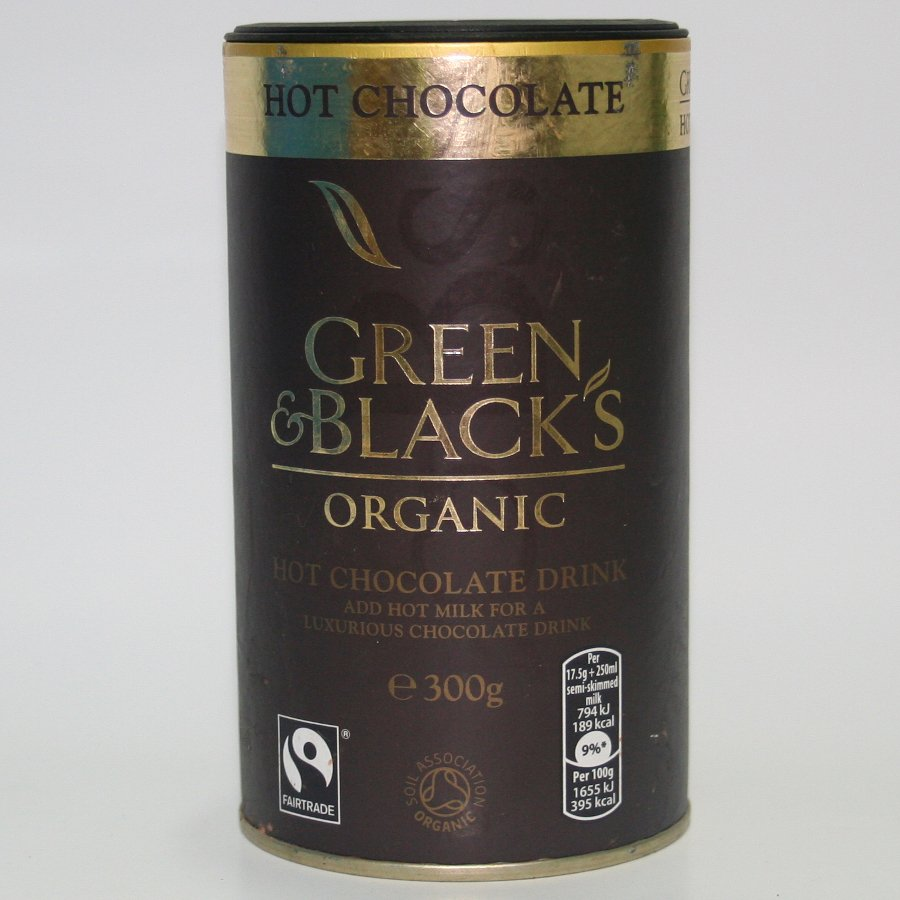 Green And Blacks Organic Hot Chocolate Drink