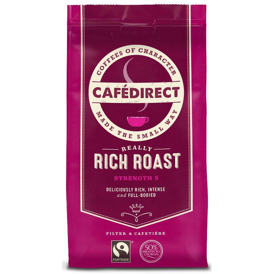 Cafedirect Rich Roast Fresh Ground Coffee 227g
