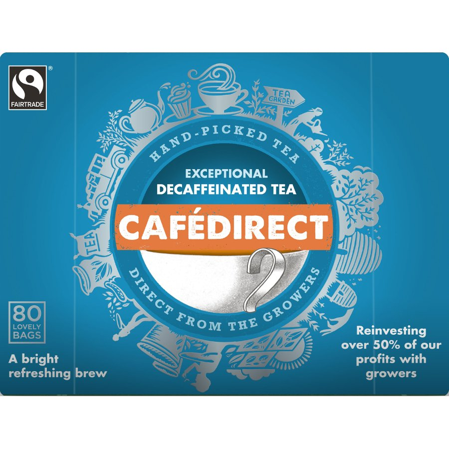 Cafédirect Everyday Decaffeinated Tea Online At Ethical Super