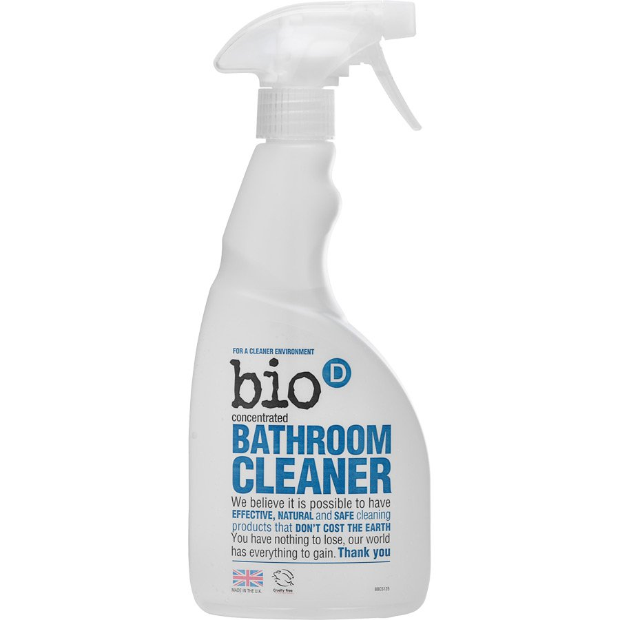 Bio d bathroom cleaner 500ml bio d ethical superstore for Cleaning products for bathroom
