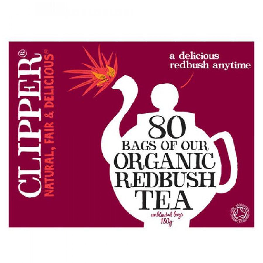 Clipper Organic Redbush Tea 80 Bags